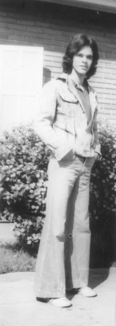 Marico Melo as a Rotary exchange student in 1972.