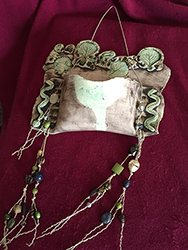 Pottery and bead designs by Lorraine Spaziani